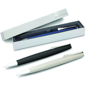 the Lamy Studio Pen is a modern style metal pen in 3 great colours