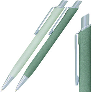 image shows stone finish look on metal pens in 2 great grey colours