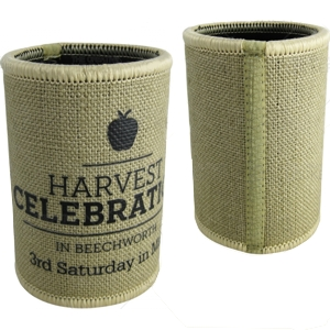 Hessian Stubby Coolers