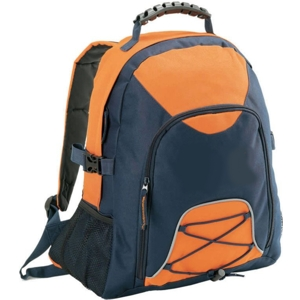 climber backpack orange